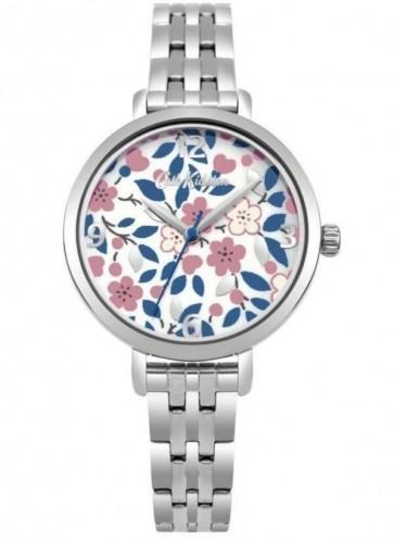 Cath Kidston Ladies Womens Silver  Wrist Watch CKL037SM