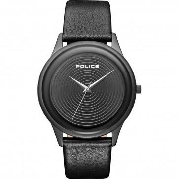 Police Mens Gents Salerno Quartz Wrist Watch 15307JSR/01