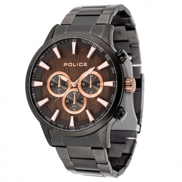 Police Mens Gents Quartz Wrist  Watch 15000JSU/12M