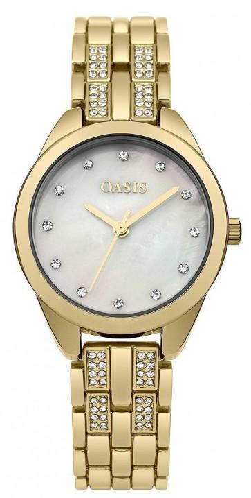 Oasis Womens Analogue Classic Quartz Watch Aluminium Strap B1619