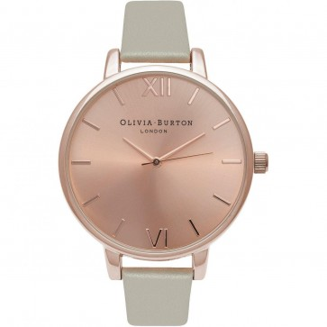 Olivia Burton Big Dial Womens Ladies Wrist Watch Rose Dial  OB16BD98