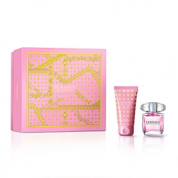 Versace Bright Crytal Eau de Toilette Spray 30ml & Body Lotion 50ml
