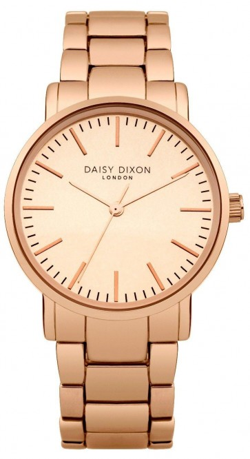 Daisy Dixon Kate Womens Ladies Wrist Watch Rose Gold Strap Dial DD004RGM