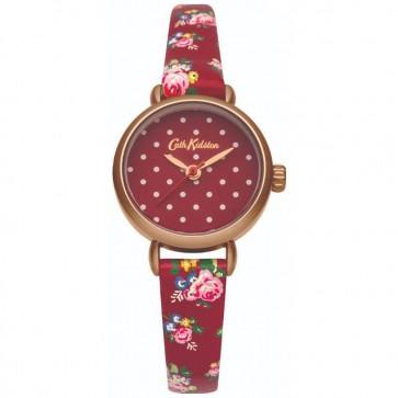 Cath Kidston Ladies Womens Ledbury Red Spot Wrist Watch CKWL014RRG