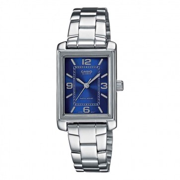 Casio Ladies Watch Stainless Steel Blue Dial LTP-1234PD-2AEF