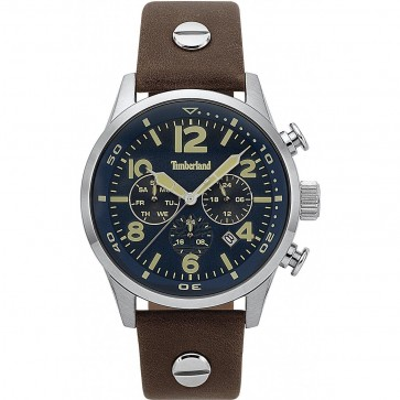 Timberland Mens Gents Jenness Gents Wrist Watch Blue Dial 15376JS/03