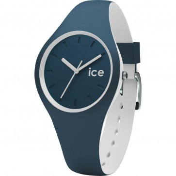ICE Ladies Womens Duo Atlantic Watch Blue Strap Blue Face 001487