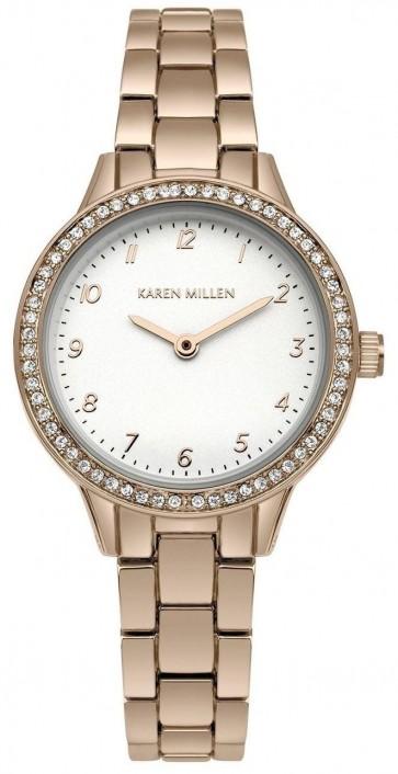 Karen Millen Ladies Wrist Watch SKM004RGM