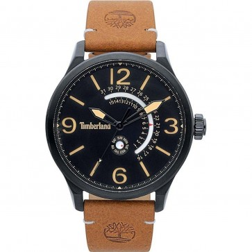 Timberland Mens Gents Hollace Wrist Watch Black Dial 15419JSB/02