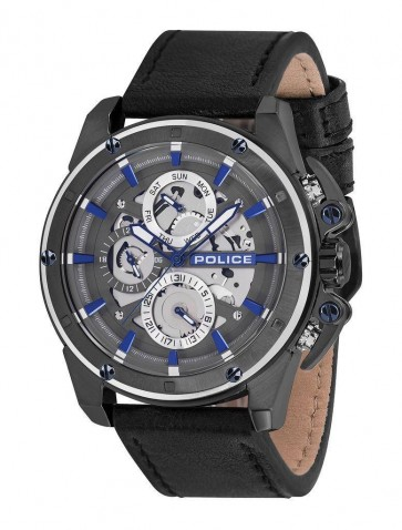 Police Mens Gents Splinter Wrist Watch 14688JSUS/13