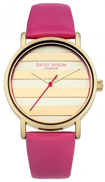 Daisy Dixon Ladies Womens Poppy Wrist Watch Gold Dial Face DD009PG