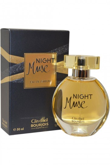 Bourjois Night Muse Eau de Parfum Spray Fragrance  50ml