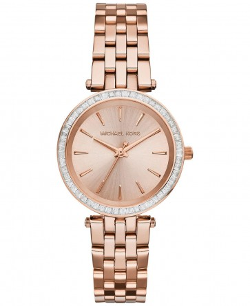 Michael Kors Ladies Darci Rose Gold Bracelet Dial MK3366