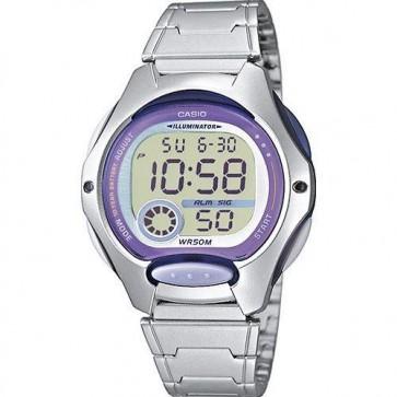 Casio Ladies Watch Watch Alarm Chronograph Resin Strap LW-200D-6AVEF