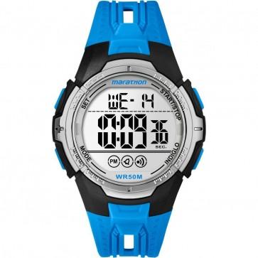 Timex Mens Gents Marathon Quartz Watch With Blue Strap TW5M06900