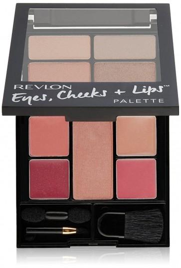 Revlon Romantic Nudes Cheeks and Lips Stylish Palette