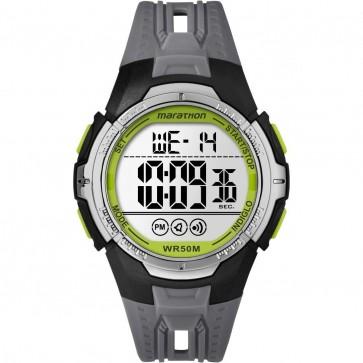 Timex Men's Gent's Quartz Watch With Grey Dial Grey Strap TW5M06700