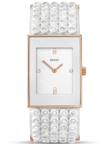 Sekonda Ladies Womens Wrist Watch Silver Strap White Face 4853