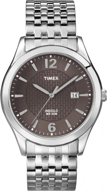 Timex Men's Gent's Quartz Watch With Black Dial T2N848