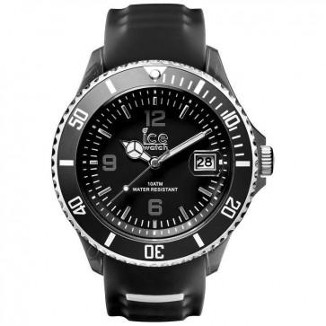 Ice-Watch Mens Big Sporty Watch Black Silicone Strap 001327