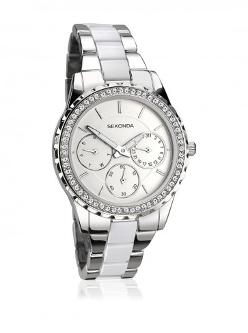 Sekonda Ladies Womens Wrist Watch Silver Strap Dial 2121