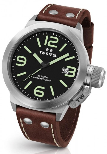 TW Steel Canteen Mens Gents Wrist Watch CS21