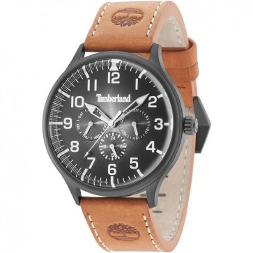Timberland Mens Gents Blanchard Wrist Watch Brown Strap 15270JSB/02