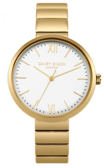 Daisy Dixon Ladies Womens Victoria Wrist Watch Gold Dial Face DD033GM