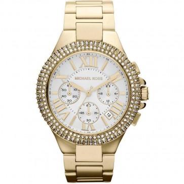 Michael Kors MK5756 43mm Gold Plated Stainless Steel Case & Bracelet