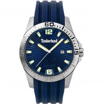 Timberland Mens Gents Wrist Watch Blue Strap Blue Dial 15352JS/03P