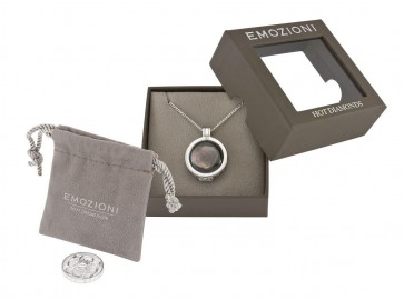 Hot Diamonds Emozioni Day & Night Multi Coin Pendant Necklace