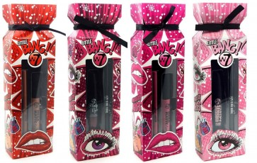 W7 Little Bang Cracker Sets for Eyes and Lips