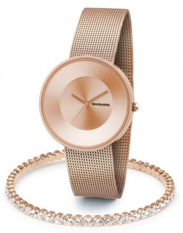 Lambretta Womens Ladies Cielo 37 Wrist Watch Rose Gold Kit 2170ROS