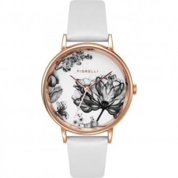 Fiorelli Ladies Watch Gold Bracelet White Dial FO043W