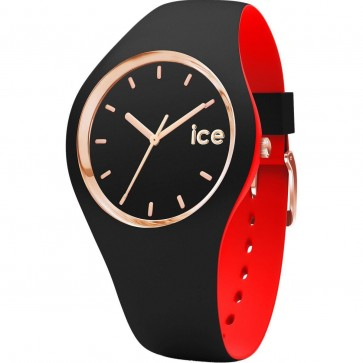 ICE Loulou Ladies Womens Watch Black Face Black Strap 007236