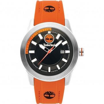 Timberland Mens Gents Fenway Orange Wrist Watch Black Dial 15355JS/02PA