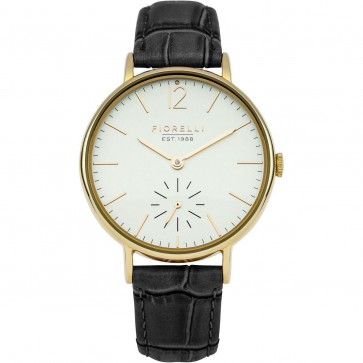 Fiorelli Womens Ladies Black Quartz Wrist Watch FO018BG