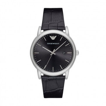 Emporio Armani Mens Gents Wrist Watch Stainless Steel AR2500