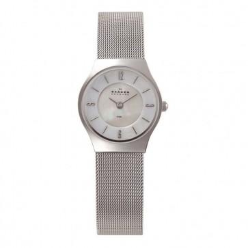 Skagen Ladies Quartz Silver Stainless Steel Mesh Watch 233XSSS