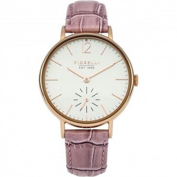 Fiorelli Ladies Womens Watch Pink Strap White Face FO018PRG