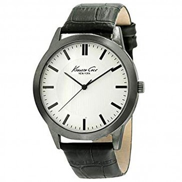 Kenneth Cole Mens Gents Black Leather Wrist Watch 10024817