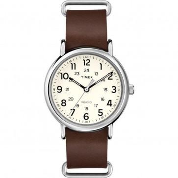 Timex Unisex Quartz Watch With Cream Dial T2P495