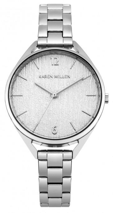 Watch Karen Millen KM162SM Watch Steel Round Female