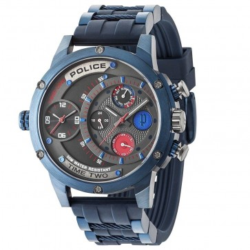 Police Mens Gents Quartz Wrist  Watch 14536JSBL/SM