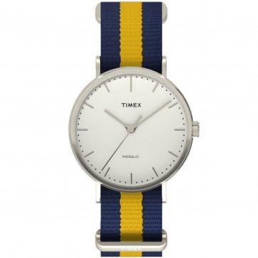 Timex Unisex Quartz Watch With White Dial TW2P90900