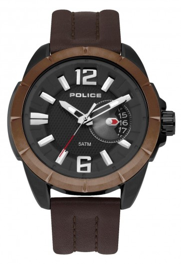 Police Mens Gents Quartz Wrist  Watch 15240JSBBN/02