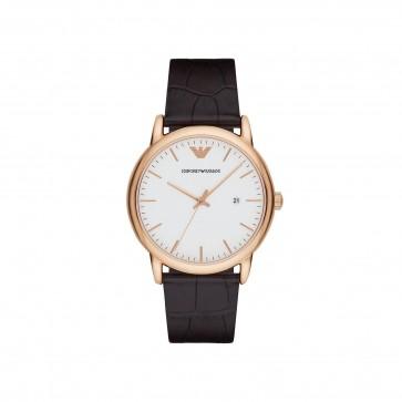 Emporio Armani Mens Gents Wrist Watch Stainless Steel AR2502