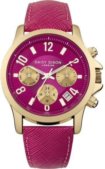 Daisy Dixon Adriana Womens Ladies Wrist Watch Pink Dial DD002PG