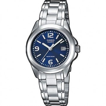 Casio Mens Watch Stainless Steel Bracelet Blue Dial MTP-1259PD-2AEF