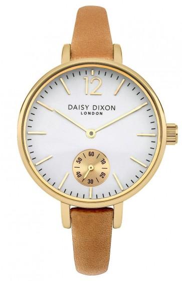 Daisy Dixon Ladies Womens Gracie Wrist Watch Gold Dial Face DD026EG